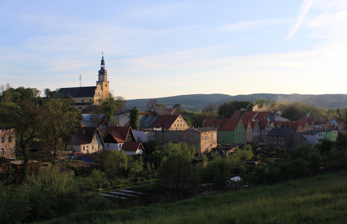 Kościół w Chełmsku Śląskim